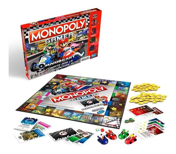 Juego De Mesa Monopoly Mario Kart Hasbro E1870 Envio Full