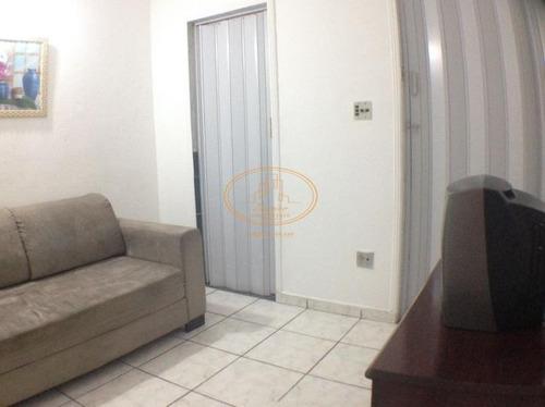 Apartamento  Com 1 Dormitório(s) Localizado(a) No Bairro Itararé Em São Vicente / São Vicente  - 6106