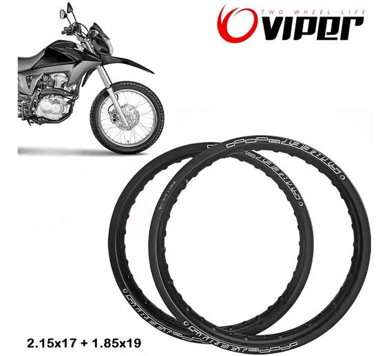 Aros Viper Street 17 E 19 Varias Cores Bros 150/160 + Brinde