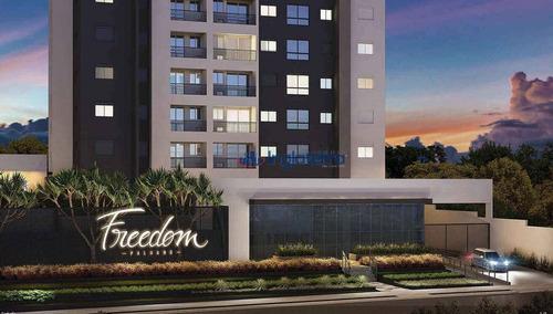 Apartamento À Venda, 45 M² Por R$ 318.200,00 - Gleba Palhano - Londrina/pr - Ap0675