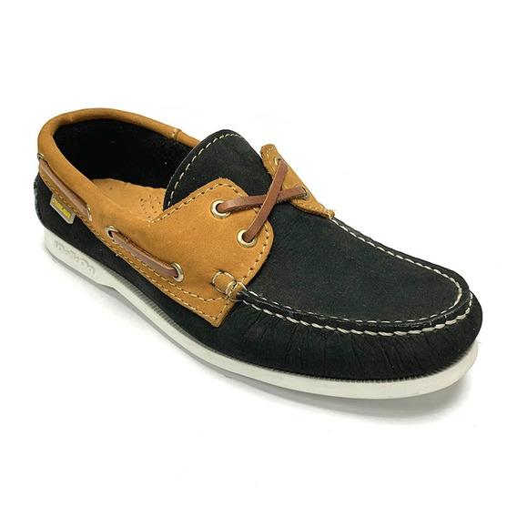 Zapatos Nauticos Pielsa Caballero Dorado Pi 0002 Corpez 44