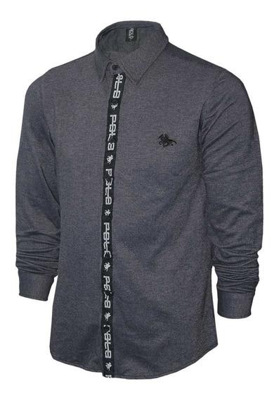 Camisa Com Tape Central