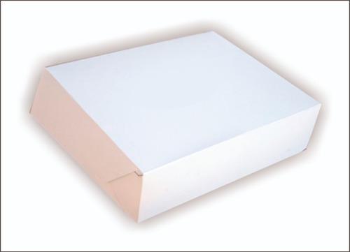 Cajas De Masas Blancas - 1 Kilo  - 30x22x6,5 Cm - 100 Unid