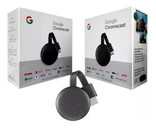 Google Chromecast 3 Smart Tv Nuevo Caja Cerrada Original