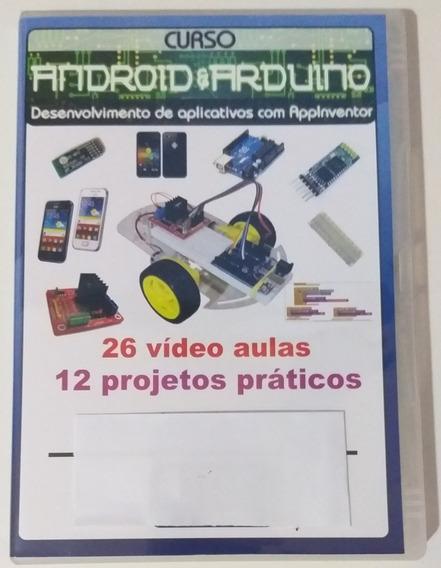 Curso De Android Com Arduino E Robótica Dvd