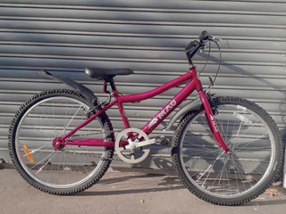 Bicicleta De Paseo Dama Niña Mao Kupan - Rodado 24