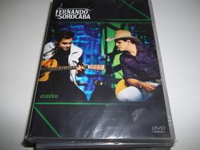 Dvd - Fernando E Sorocaba - Acústico