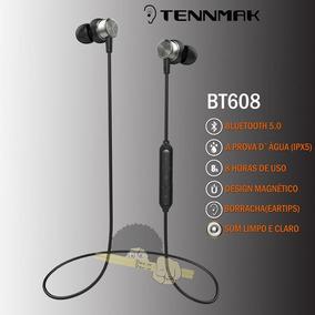 Fone Bluetooth -tennmak Bt608 Á Prova Dagua-8h De Bateria