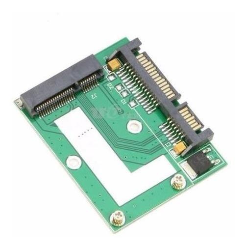 Mini Adaptador Ssd Msata 51mm X Sata 2.5 (hd Notebook)
