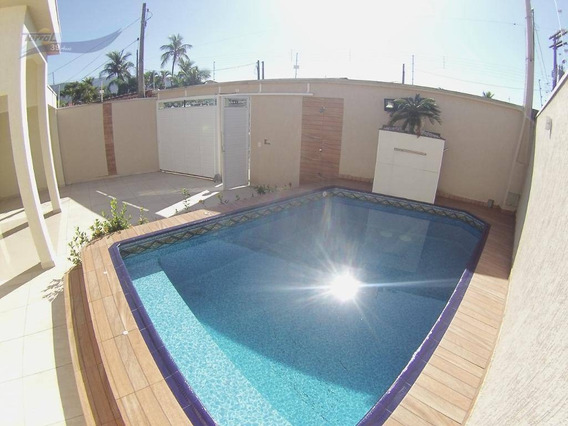 Excelente Casaisolada Com Piscina Próximo A Praia!!!!!! - Ca1323