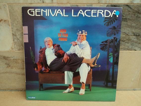 Genival Lacerda-1991-aqui So Tem Forro-lp Vinil