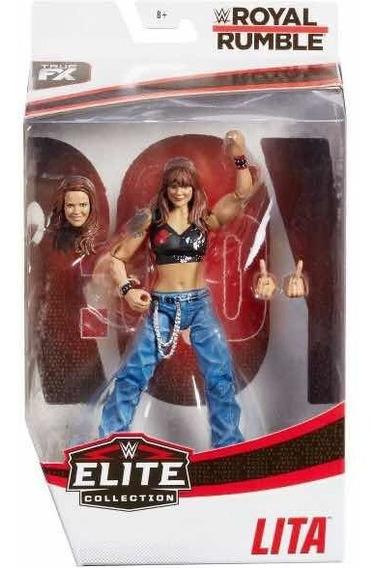 Figura Wwe Mattel Elite Divas Lita Edición Royal Rumble 2020