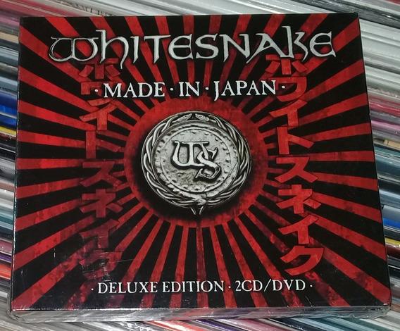 Whitesnake Made In Japan Deluxe 2 Cd+dvd Sellado Arg / Kktus