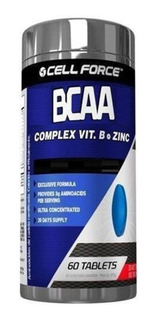 Bcaa 6:1:1 - 60 Tablets - Cell Force