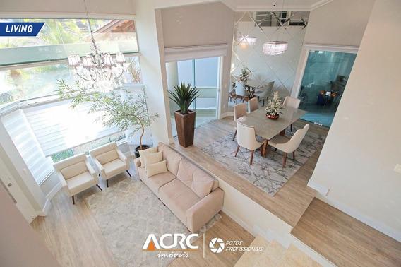 Acrc Imóveis - Casa Mobiliada Com Ampla Área De Lazer Para Venda No Bairro Velha - Ca01410 - 68121324