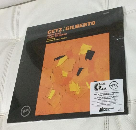 Vinil Lp Getz / Gilberto Lacrado Europeu
