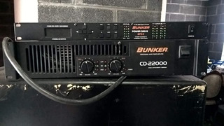 Amplificador Bajos Tipo Nexus Y Equalizador Marca Búnker