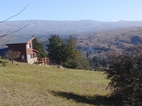 Cabaña Con Bajada Al Río En El Durazno De Calamuchita