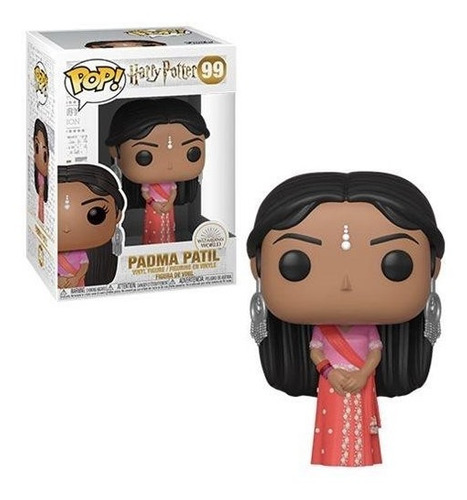 Funko Pop 99 Harry Potter - Padma Patil (yule)