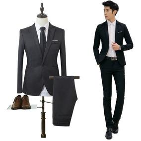 Promoção Blazer Terno E Calça Slim Completo
