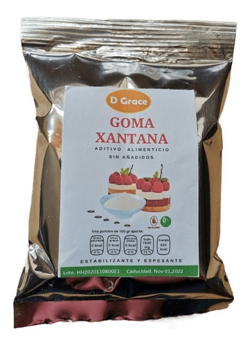 Imagen 1 de 6 de Goma Xantana 250 Gramos Sin Gluten