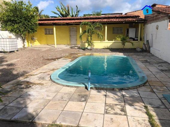Casa Com 3 Dormitórios À Venda, 100 M² Por R$ 165.000,00 - Praia De Carapibus - Conde/pb - Ca0518