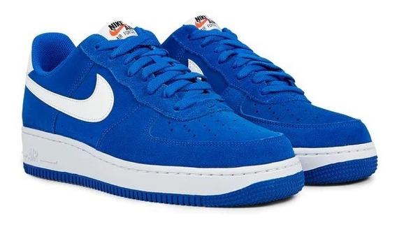 Nike Air Force 1 Azul Cobalto/blanco