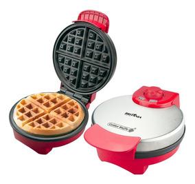 Máquina Golden Waffle Britânia Vermelha 850w 127v
