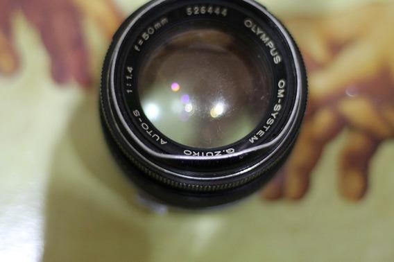 Lente Analogica Olympus 50mm 1.4