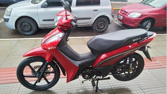 Moto Elétrica - Ciclomotor Bull Krc 50 Lx 49,7cc - Vermelho