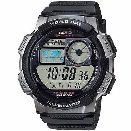 Relógio Masculino Casio Digital Ae-1000w-1bvdf (3198)