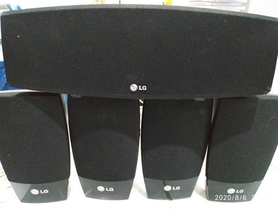 Caixas Acusticas 5.1 Com Subwoofer Passivo LG