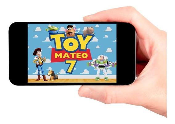 Video Invitación Digital De Toy Story