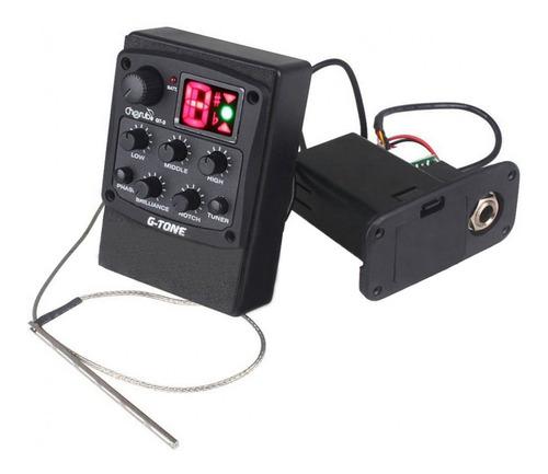 Micrófono Ecualizador Guitarra Cherub Gt-3 Acústica Clásica