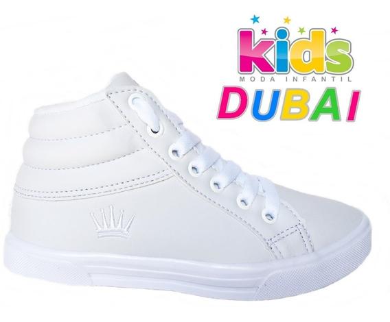 Sapato Criança Botinha Cano Alto Passeio Escola Criança Cod6