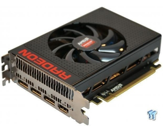 Placa De Video Xfx Radeon R9 Nano 4gb Hbm 4096bit, R9-nano-4