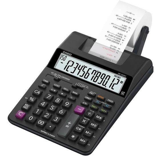 Calculadora Com Impressora Hr-100rc-bk Bivolt Casio