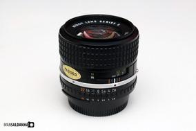 Lente Nikon 100mm Serie E F/2.8 Raridade ( Santo André )