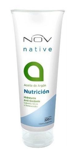 Imagen 1 de 2 de Baño De Crema Mascars Nutricion Con Nov Aceite De Argan 220g