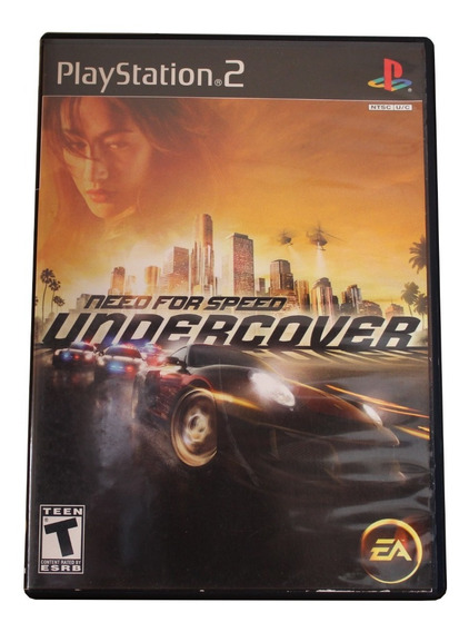 Need For Speed Undercover Ps2 Original - Mídia Física