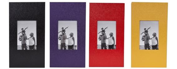 Álbum Fotográfico Para 300 Fotos 10x15 Kit Com 4 Unidades