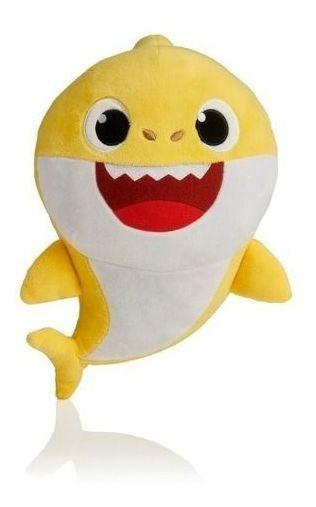 Baby Shark Pelucia Musical Bebê Tubarão
