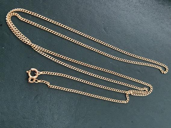 Gigante Colar Em Ouro 18k-750, 69cm, Peso: 8,4 Ggramas
