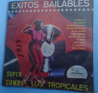 Super Combo Los Tropicales Exitos Bailables Lp Popsike