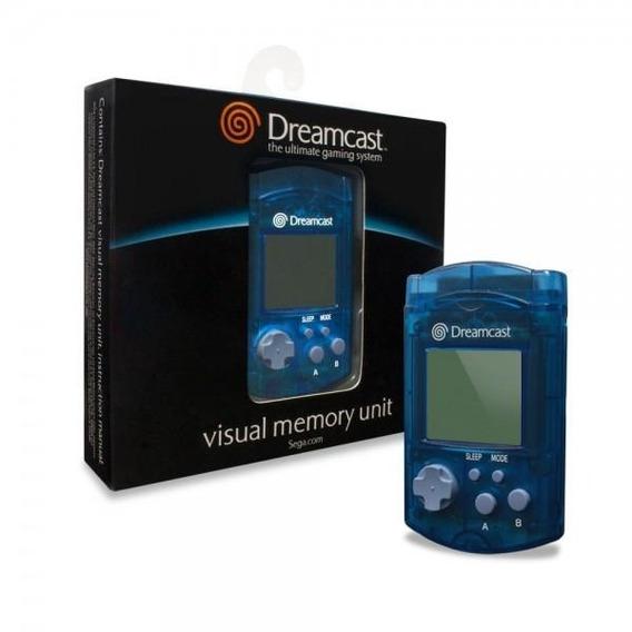 Vmu Original Sega Dreamcast! Loja Física! Parcele Sem Juros!