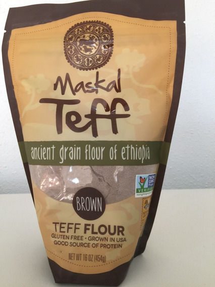 Maskal Harina De Teff Brown 454g Se