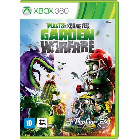 Plants Vs Zombies: Garden Warfare Xbox 360 - Frete Grátis