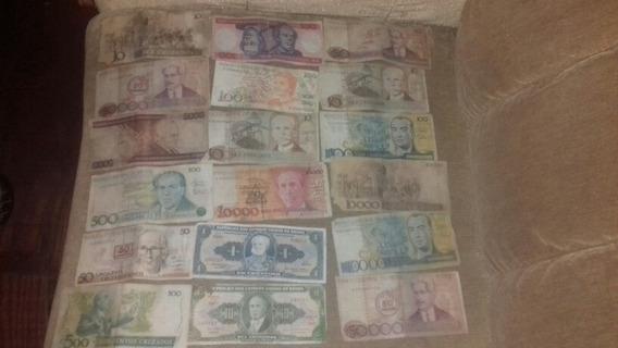 Notas De Dinheiro Antigas