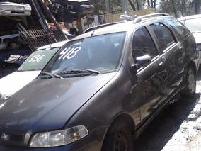 Fiat Palio Wekend 1.6 16v Ano 2001 Pra Retirada De Pecas