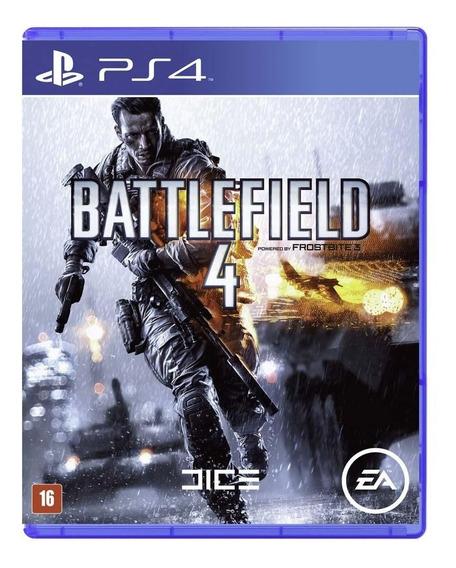 Game Battlefield 4 - Ps4 (usado)